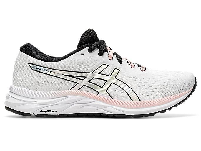 Women's GEL-Excite 7 | White/Black | Running Shoes | ASICS