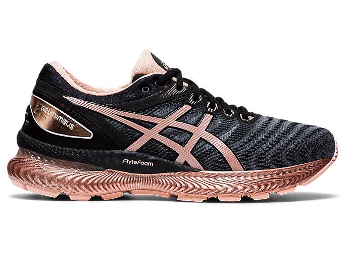 In tal modo Invitare fischio  Women's GEL-NIMBUS 22 WM | Black/Rose Gold | Running Shoes | ASICS