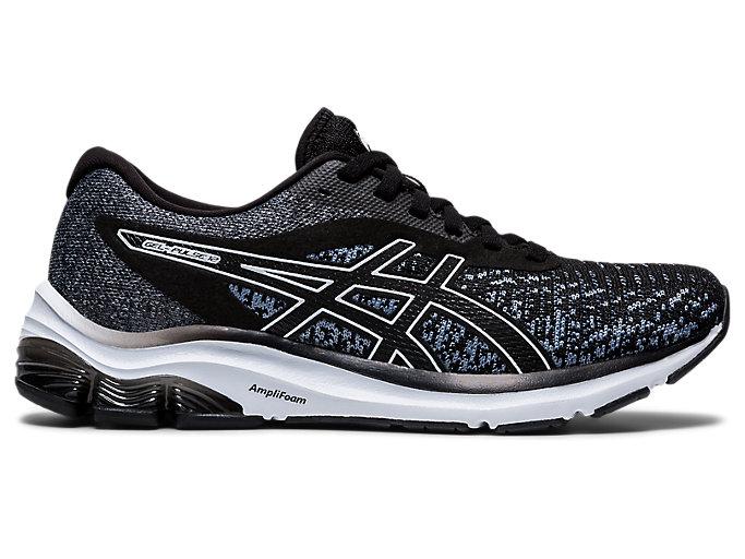 Women's GEL-PULSE 12 Knit | Black/Black | Running Shoes | ASICS