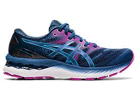 GEL-NIMBUS 23 | Women | Grand Shark/Digital Aqua | Womens Running ...