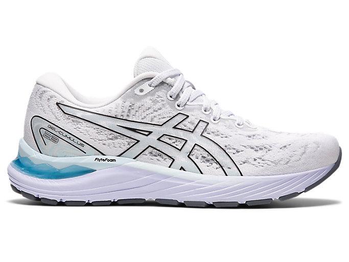 Women's GEL-CUMULUS 23   White/Black   Running Shoes   ASICS