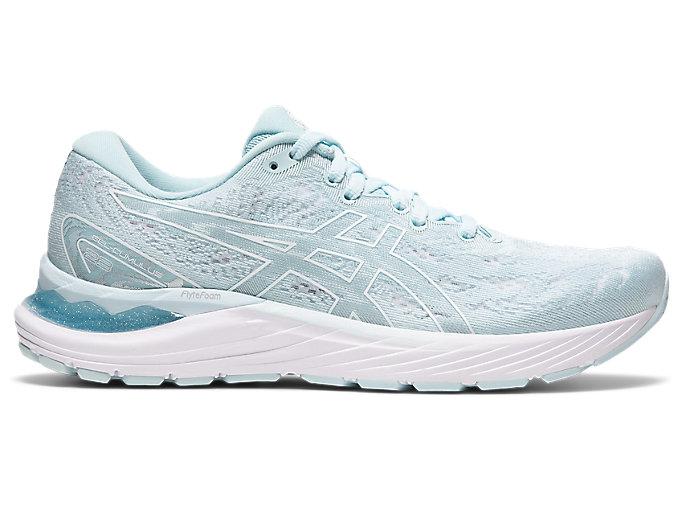 Women's GEL-CUMULUS 23 | Aqua Angel/White | Running Shoes | ASICS