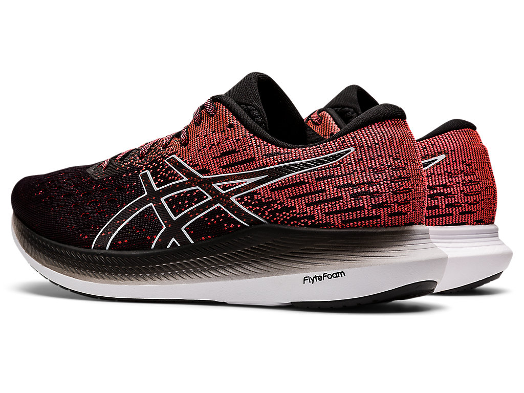 Women's EVORIDE 2 | Black/Blazing Coral | Running Shoes | ASICS