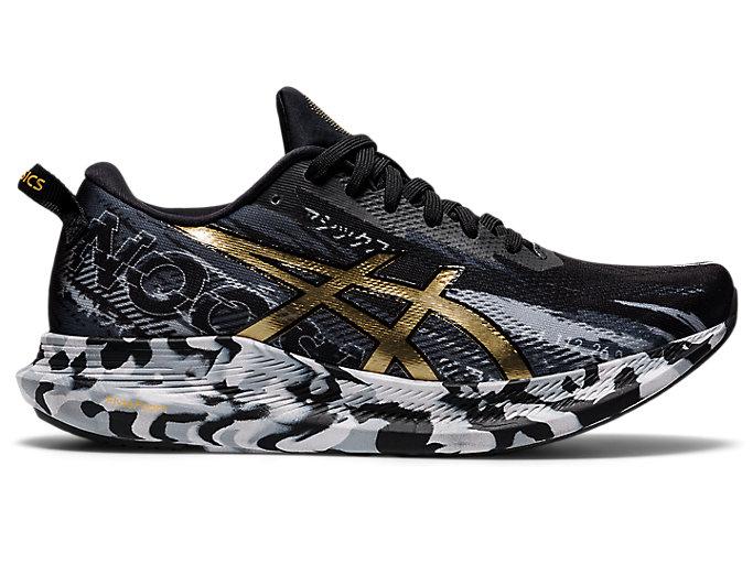 Women's NOOSA TRI 13   Black/Pure Gold   Running Shoes   ASICS