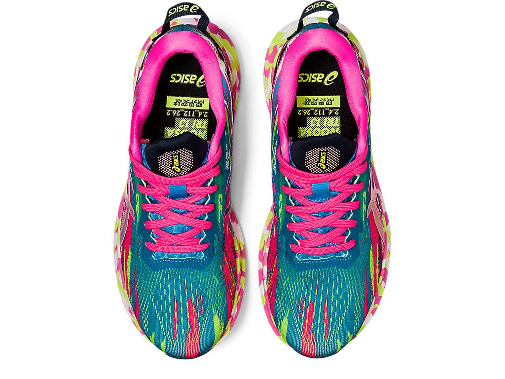Women's NOOSA TRI 13 | Digital Aqua/Hot Pink | Running Shoes | ASICS
