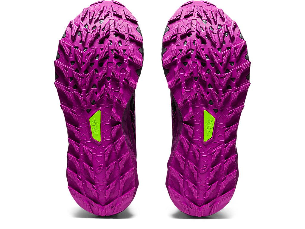 Women's GEL-TRABUCO 9 G-TX   Black/Digital Grape   Trail Running ...