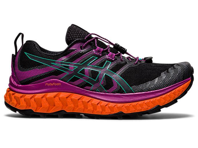 Women's TRABUCO MAX | Black/Digital Grape | Trail Running | ASICS