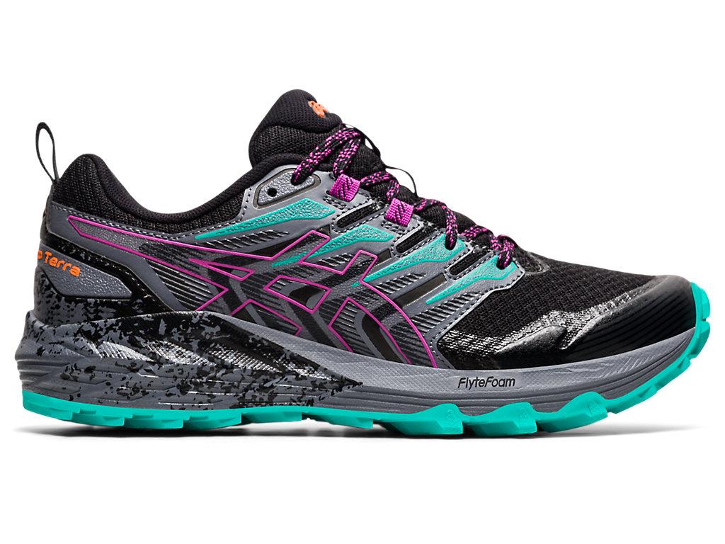 Women's GEL-Trabuco Terra | Black/Digital Grape | Trail Running ...