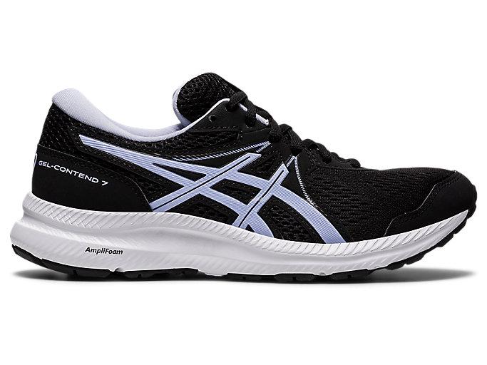 Women's GEL-CONTEND 7 | Black/Lilac Opal | Running Shoes | ASICS