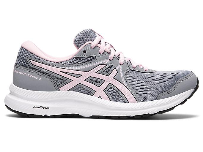 Women's GEL-CONTEND 7   Sheet Rock/Pink Salt   Running Shoes   ASICS
