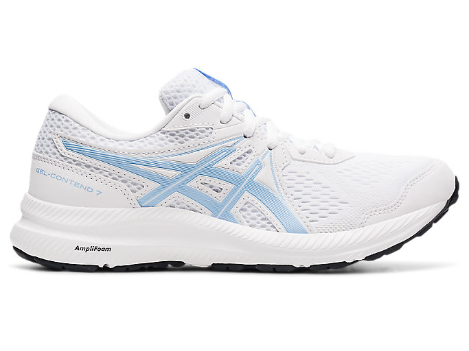 Women's GEL-CONTEND 7 | White/Mist | Running Shoes | ASICS