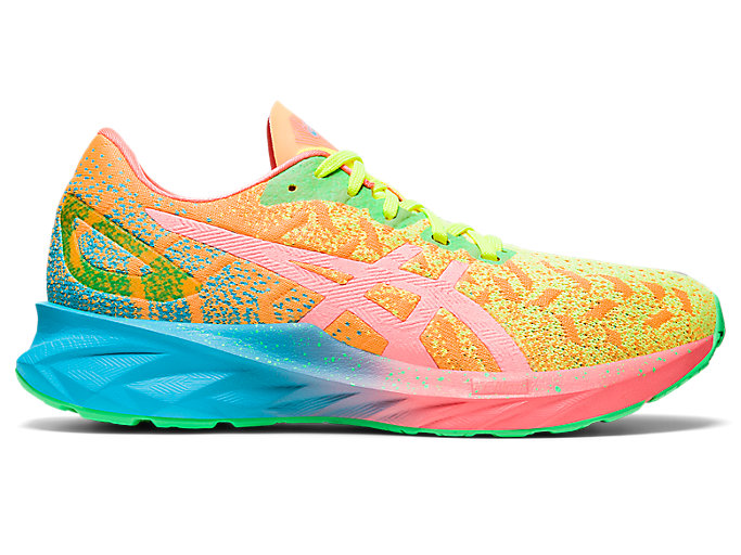 Women's DYNABLAST | Orange Pop/Sun Coral | Running Shoes | ASICS
