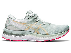 ASICS Gel - Nimbus? 23 New Strong? Lichen Rock / Champagne Mujer