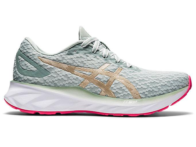 Women's DYNABLAST | Lichen Rock/Champagne | Running Shoes | ASICS