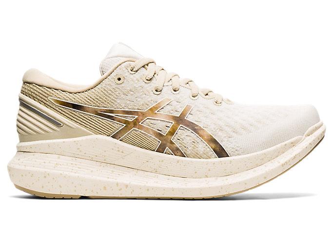 Women's GLIDERIDE 2 | Cream/Putty | Running Shoes | ASICS