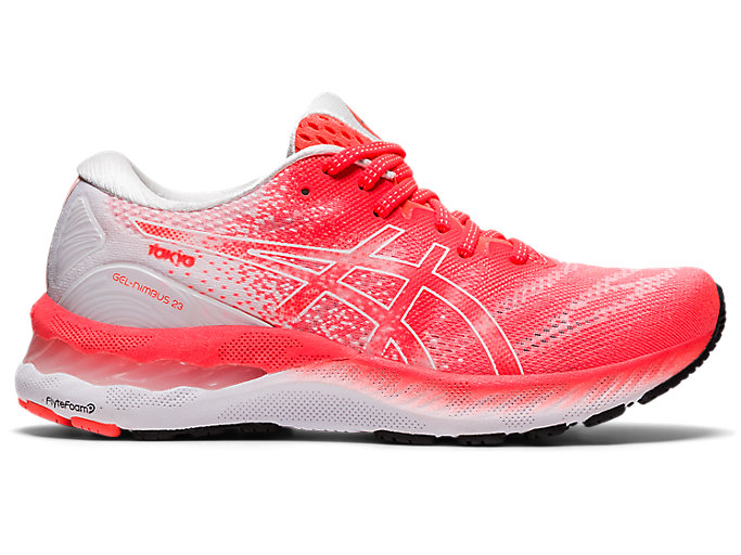 Alternative image view of GEL-NIMBUS™ 23 TOKYO, Sunrise Red/White
