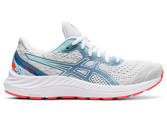 Women's GEL-EXCITE 8 | White/White | Running Shoes | ASICS