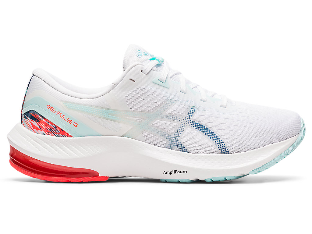 Women's GEL-PULSE 13 | White/Grey Floss | Running Shoes | ASICS