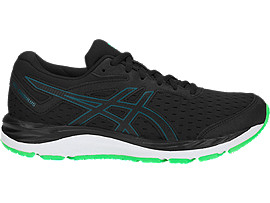 ASICS Gel - Cumulus 20 Gs Black / Beryl Green Niños
