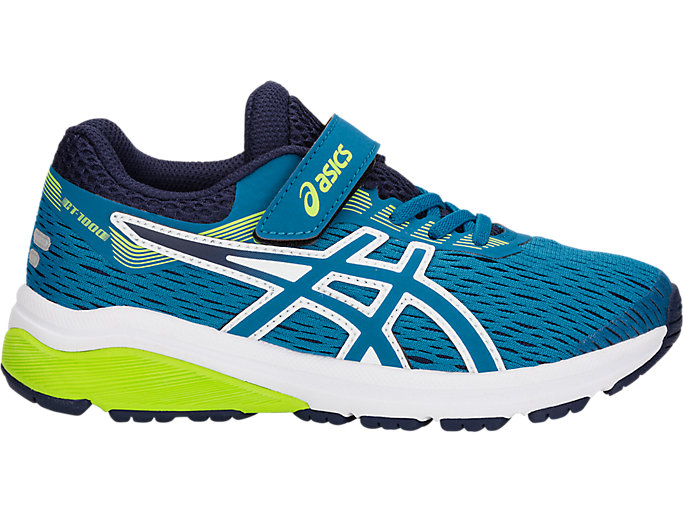 Alternative image view of GT-1000 7 PS, RACE BLUE/NEON LIME