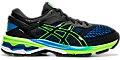 GEL-KAYANO 26 GS:BLACK/GREEN GECKO