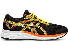 ASICS Gel - Excite 6 Gs Black / Shocking Orange Niños