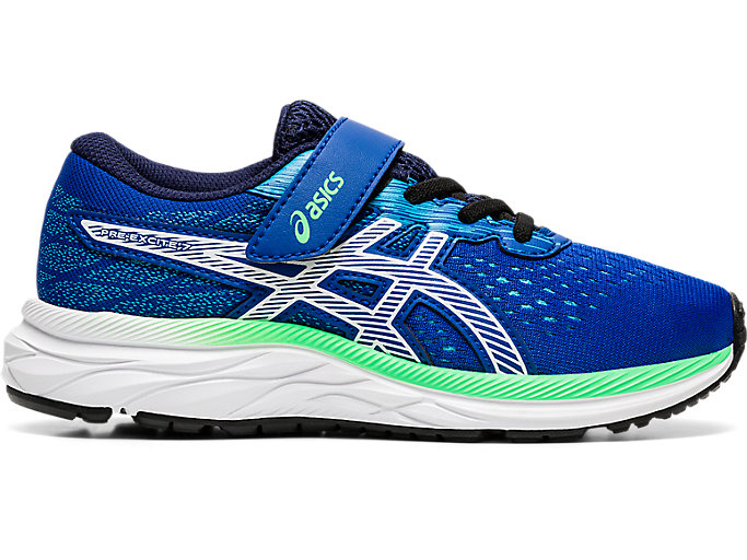 Alternative image view of PRE EXCITE 7 PS, ASICS BLUE/WHITE