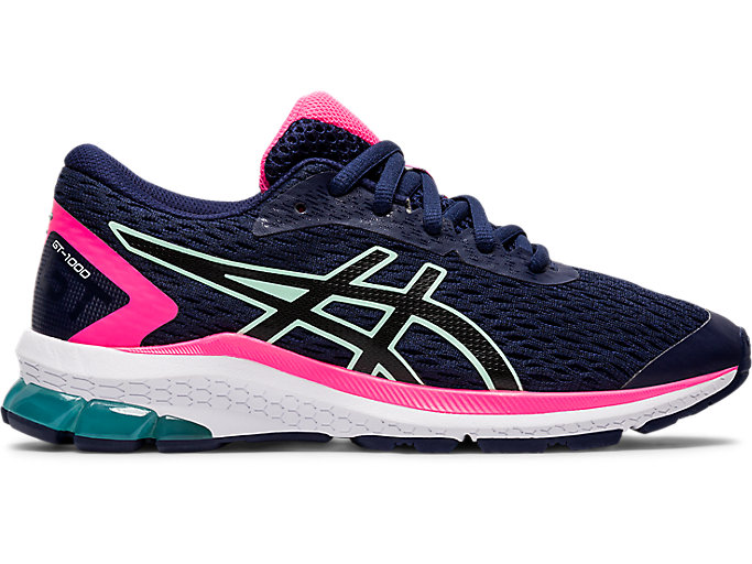 Electrical cast Year  Unisex GT-1000 9 GS | PEACOAT/BLACK | Kid's Road Running Shoes | ASICS
