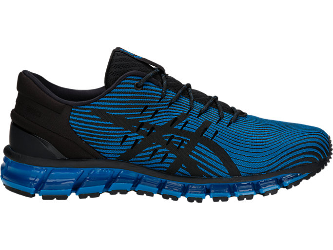 Right side view of GEL-QUANTUM 360 4, RACE BLUE/BLACK