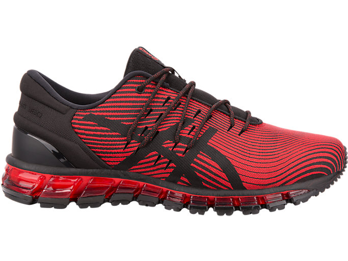 Right side view of GEL-QUANTUM 360 4, RED ALERT/BLACK