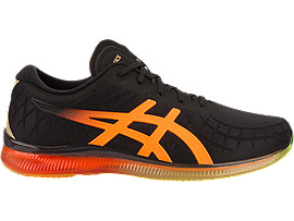 ASICS Gel - Quantum Infinity Black / Shocking Orange Hombre