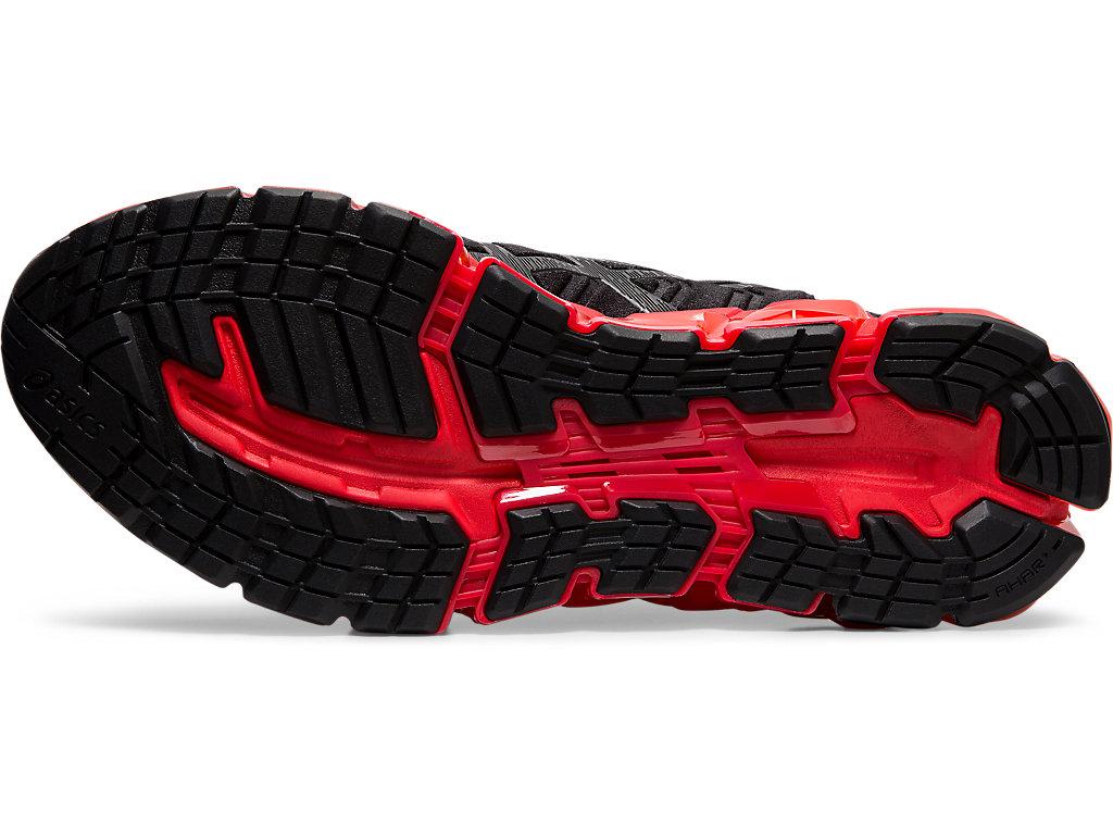 Men's GEL-QUANTUM 360 5   Black/Speed Red   Sportstyle   ASICS