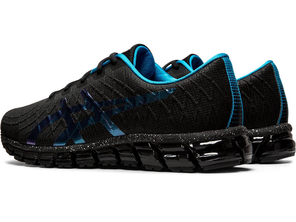 Men's GEL-Quantum 180 4 | Black/Island Blue | Sportstyle | ASICS