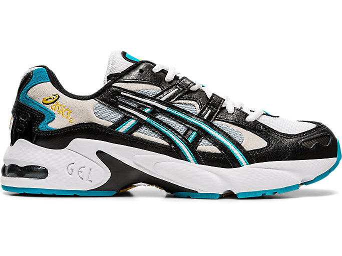 Alternative image view of GEL-KAYANO 5 OG, Black/White