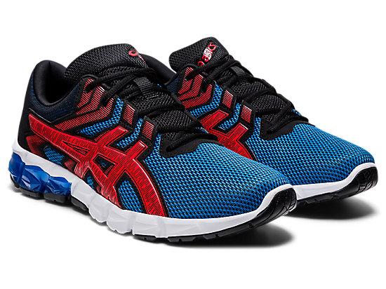 GEL-QUANTUM 90 2 ELECTRIC BLUE/FIERY RED