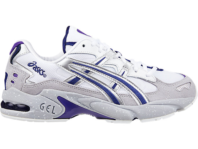 Alternative image view of GEL-KAYANO 5 OG, SILVER/WHITE