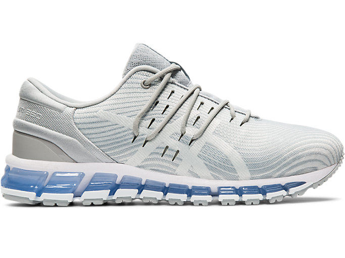 Right side view of GEL-QUANTUM 360 4, MID GREY/GLACIER GREY