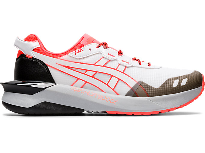 Right side view of GEL-LYTE XXX, WHITE/FLASH CORAL