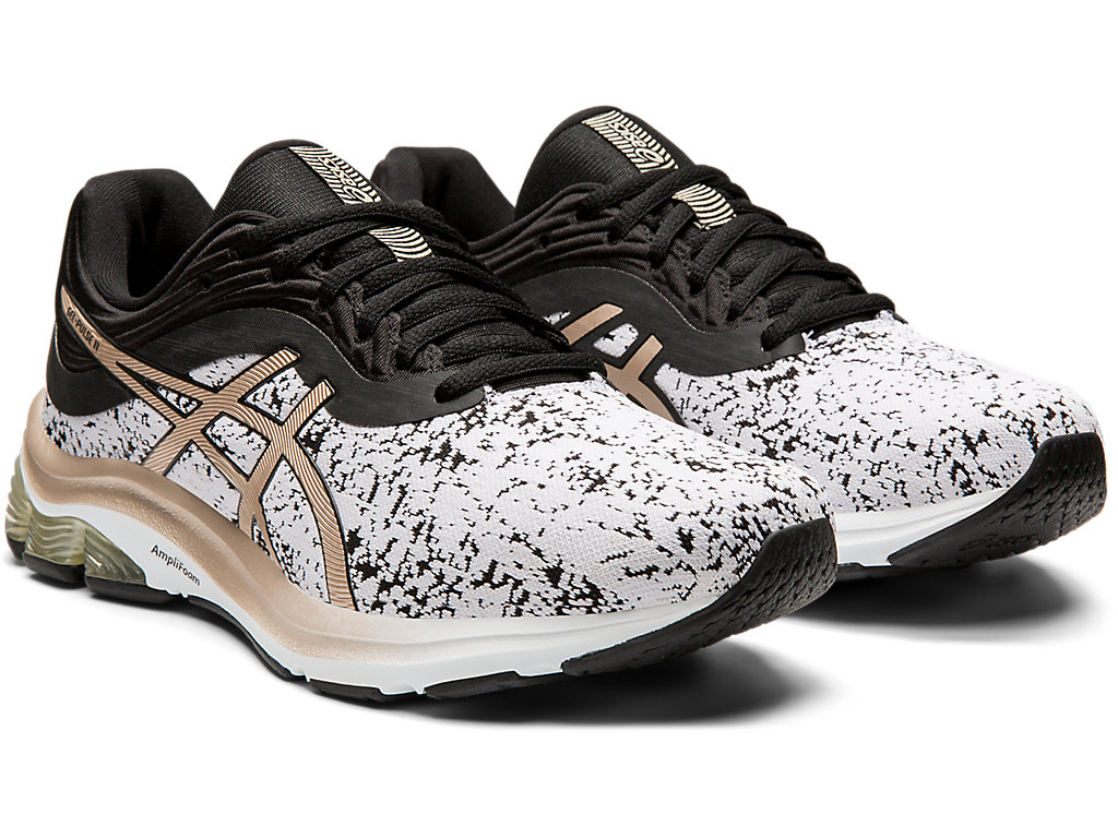 Women's GEL-PULSE 11 | White/Frosted Almond | Running Shoes | ASICS