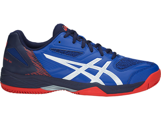 Men's GEL-PADEL EXCLUSIVE 5 SG | ASICS BLUE/WHITE | Tennis ...