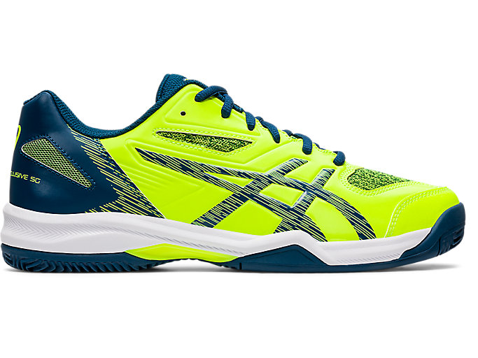 Alternative image view of GEL-PADEL™ EXCLUSIVE 5 SG, Safety Yellow/Mako Blue