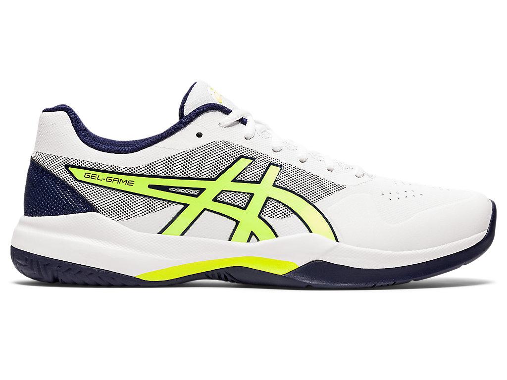Men's GEL-GAME 7 | White/Safety Yellow | Tennis | ASICS