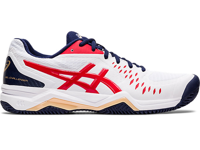 Fraternidad fumar progenie  Men's GEL-CHALLENGER 12 CLAY | WHITE/CLASSIC RED | Tennis | ASICS Outlet