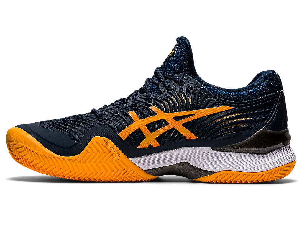 Men's COURT FF 2 CLAY   French Blue/Amber   Tennis   ASICS