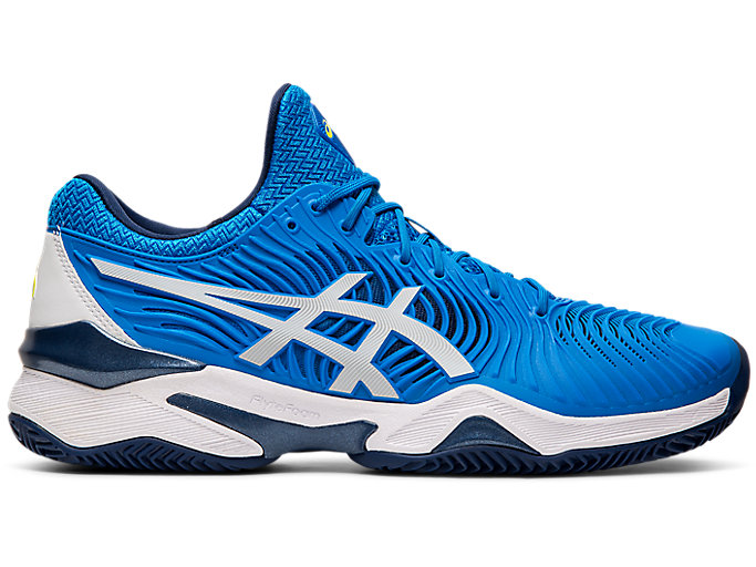 Alternative image view of COURT FF™ CLAY, Electric Blue/White