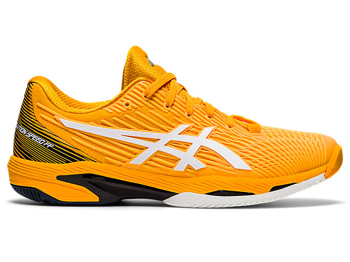 una taza de pasatiempo Hacer un muñeco de nieve  GEL-SOLUTION SPEED FF 2 (HARDCOURT) | Men | Amber/White | MENS TENNIS SHOES  | ASICS Australia