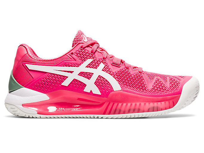 Women's GEL-Resolution 8 Clay | Pink Cameo/White | Tennis | ASICS
