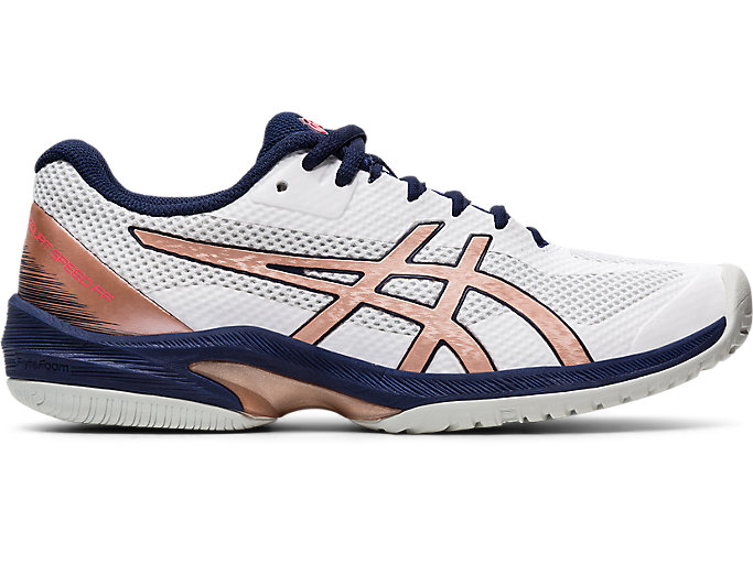 Alternative image view of COURT SPEED FF, WHITE/ROSE GOLD