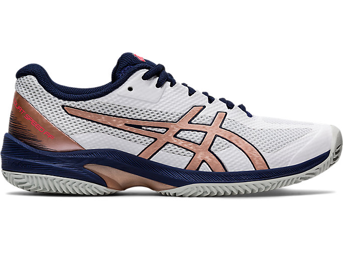 Alternative image view of COURT SPEED FF CLAY, WHITE/ROSE GOLD