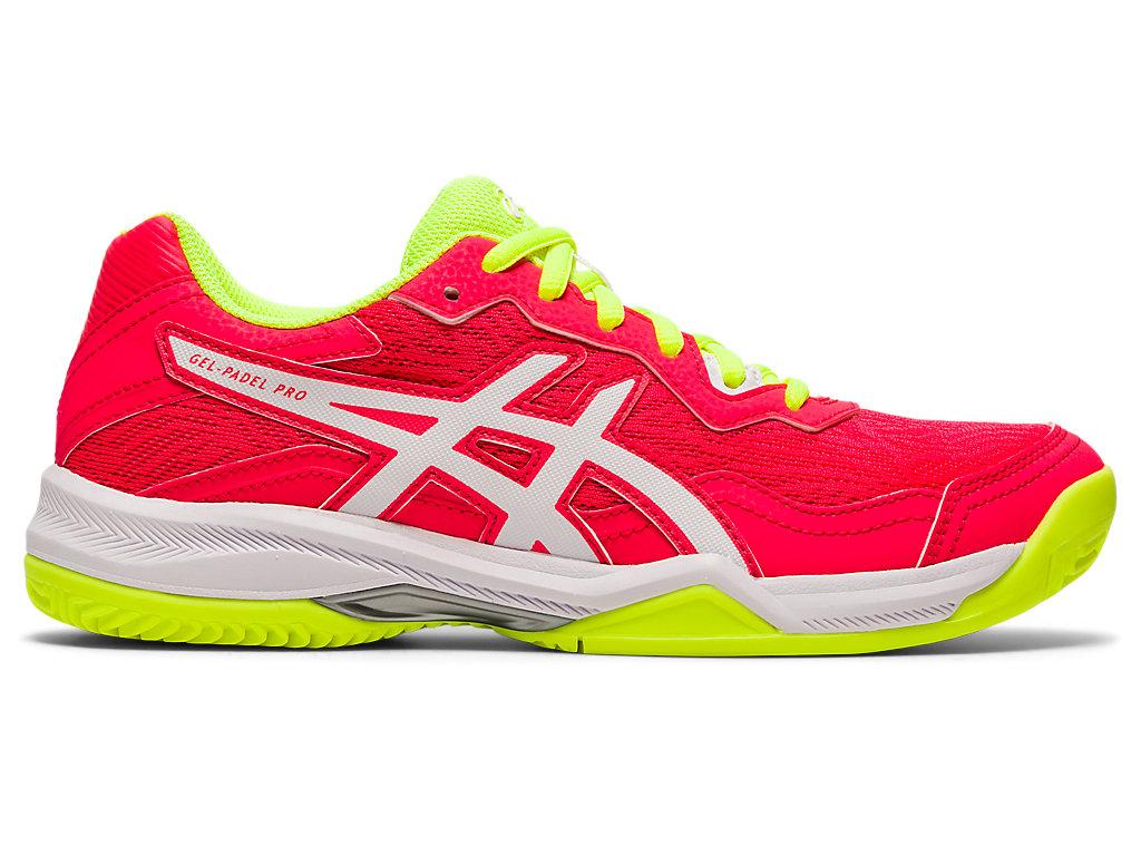 Women's GEL-PADEL PRO 4 | Laser Pink/White | Tennis | ASICS Outlet